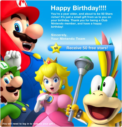 nintendo happy birthday